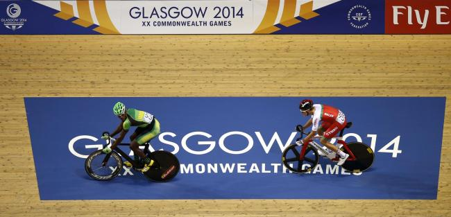 Marloe Rodman competes at the Commonwealth Games, before being injured in a motorbike crash