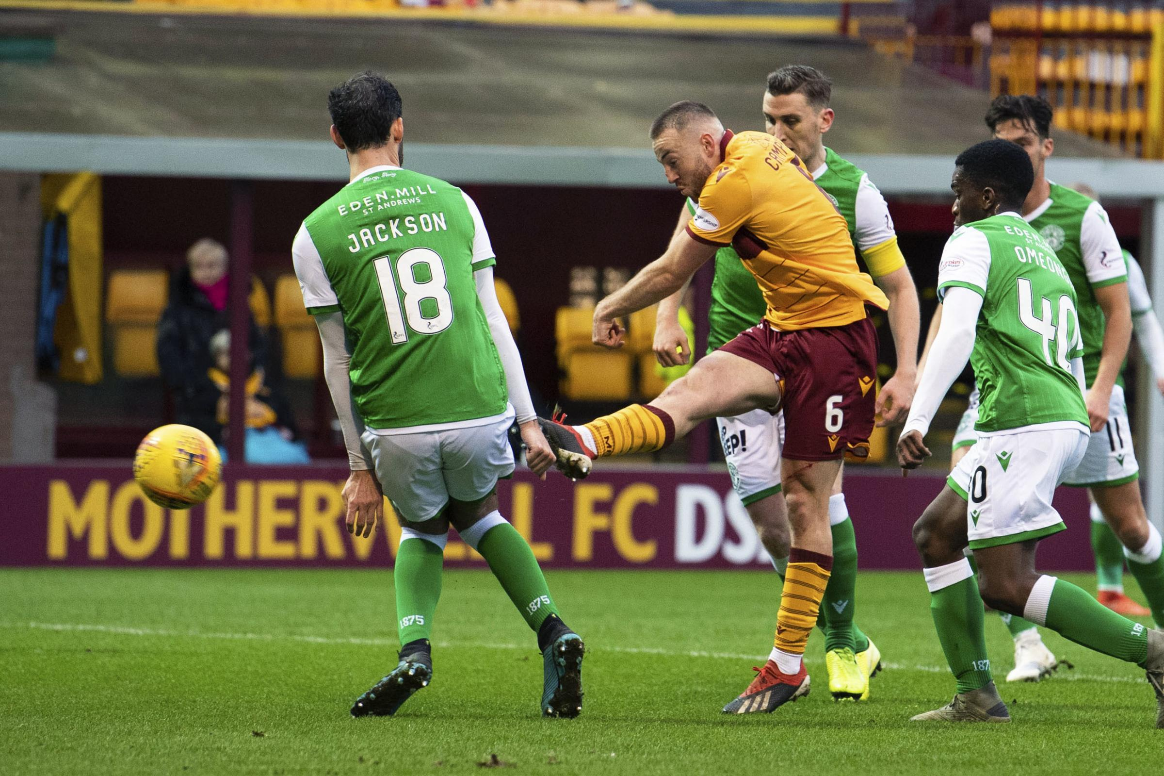 Hibs manager Jack Ross questions own caution as Motherwell blow chances