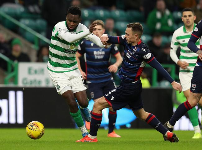 Odsonne Edouard had an immediate impact after climbing off the bench for Celtic against Ross County.