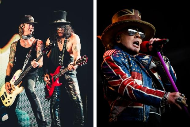 Guns n Roses announce Glasgow Green show