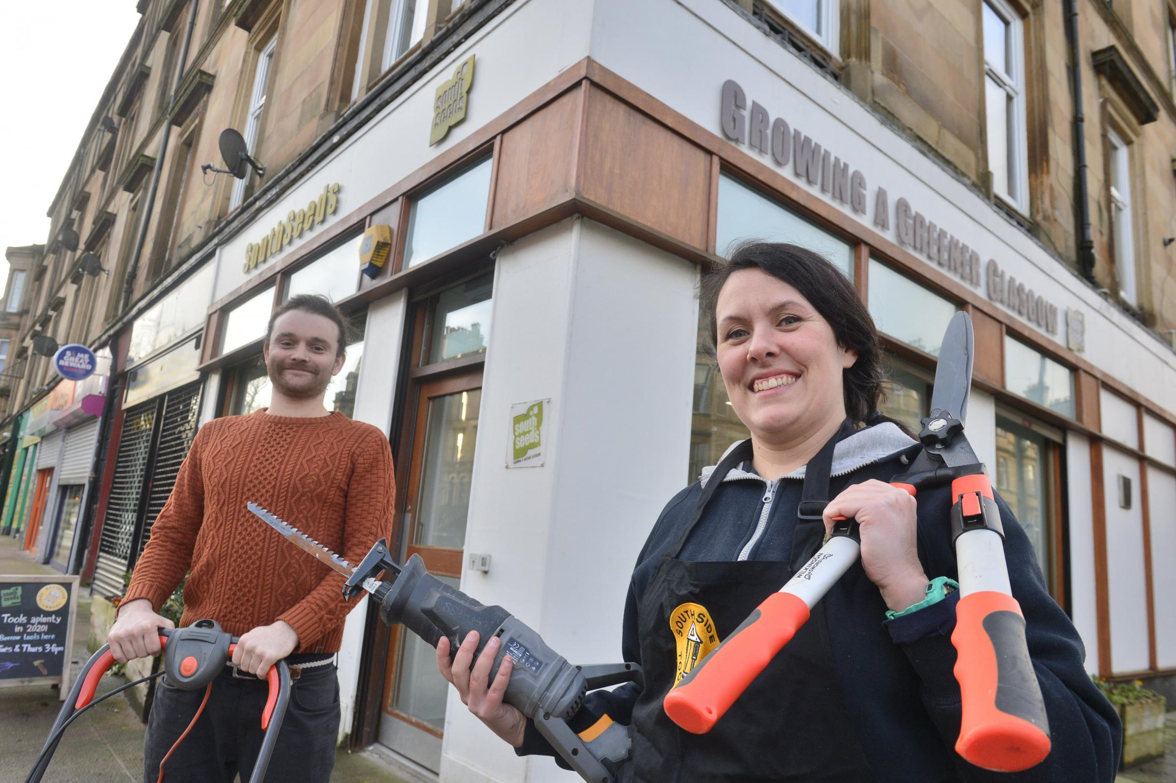 The Glasgow tool library project helping to build community spirit
