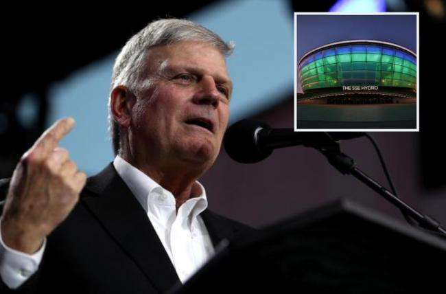 Franklin Graham has threatened to sue the Hydro