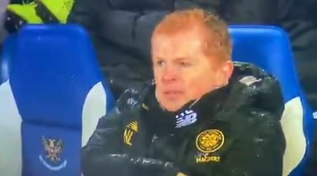 Neil Lennon tells Mikey Johnston 'f*** off' as Celtic winger hobbles off