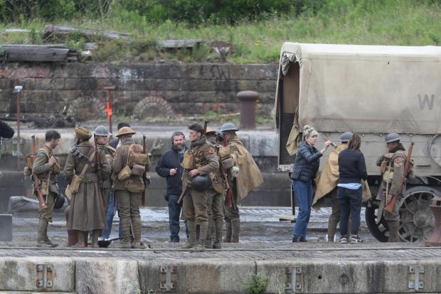 Glasgow Times: Filming of 1917