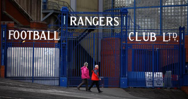 GLASGOW, SCOTLAND - APRIL 01: A general view of the gates at Ibrox Stadium on April 1, 2011 in Glasgow, Scotland. Glasgow Rangers announced their interim financial results for the last six months of 2010, the results came in the same week the club has bee