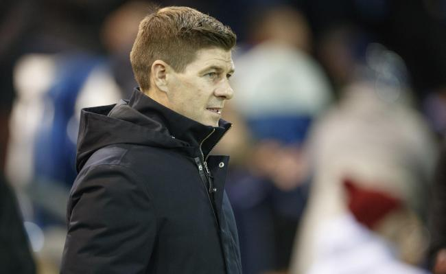 Rangers manager Steven Gerrard during the Ladbrokes Scottish Premiership match at Rugby Park, Kilmarnock. PA Photo. Picture date: Wednesday February 12, 2020. See PA story SOCCER Kilmarnock. Photo credit should read: Steve Welsh/PA Wire. EDITORIAL USE ONL