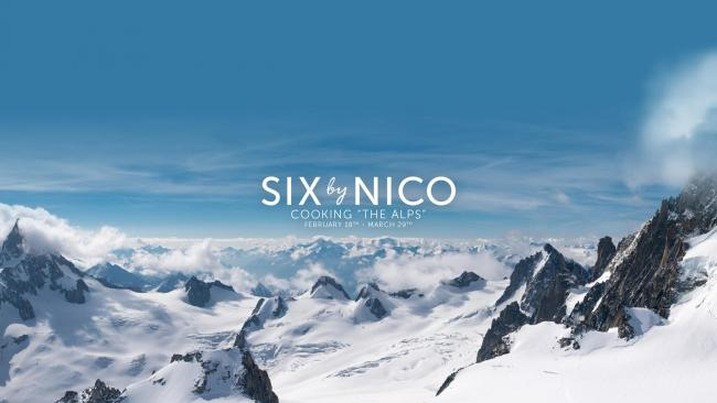 Six By Nico launches new 'Mountains of Appetite' Alps themed menu