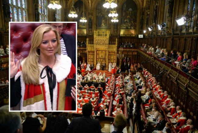 Baroness Michelle Mone in the House of Lords