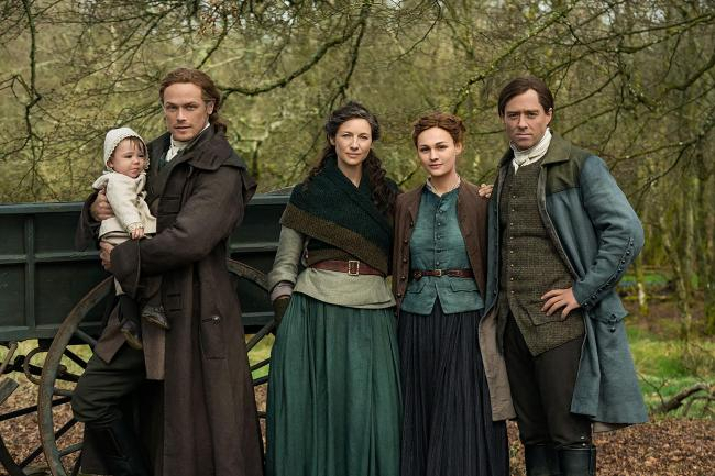 A study revealed by the university showed there has been a 45 per cent increase of visitors to Outlander filming sites.