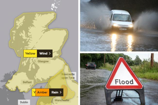 Storm Dennis is set to bring heavy rain, wind and floods to the country this weekend