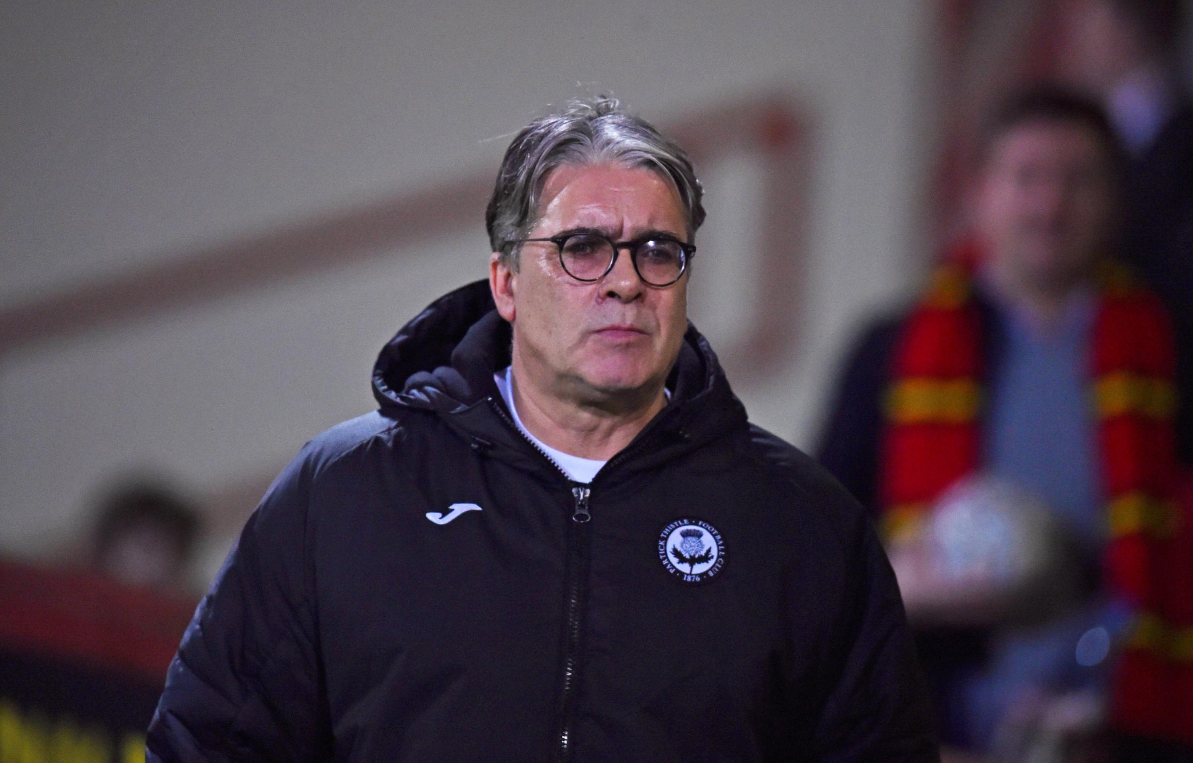 Partick Thistle 0, Queen of the South 0: McCall sees the positives after stalemate