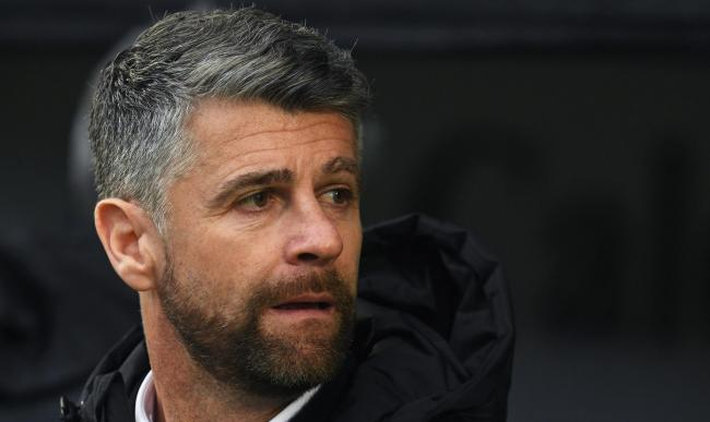 Stephen Robinson says he doesn't like to see his players trying to con referees.