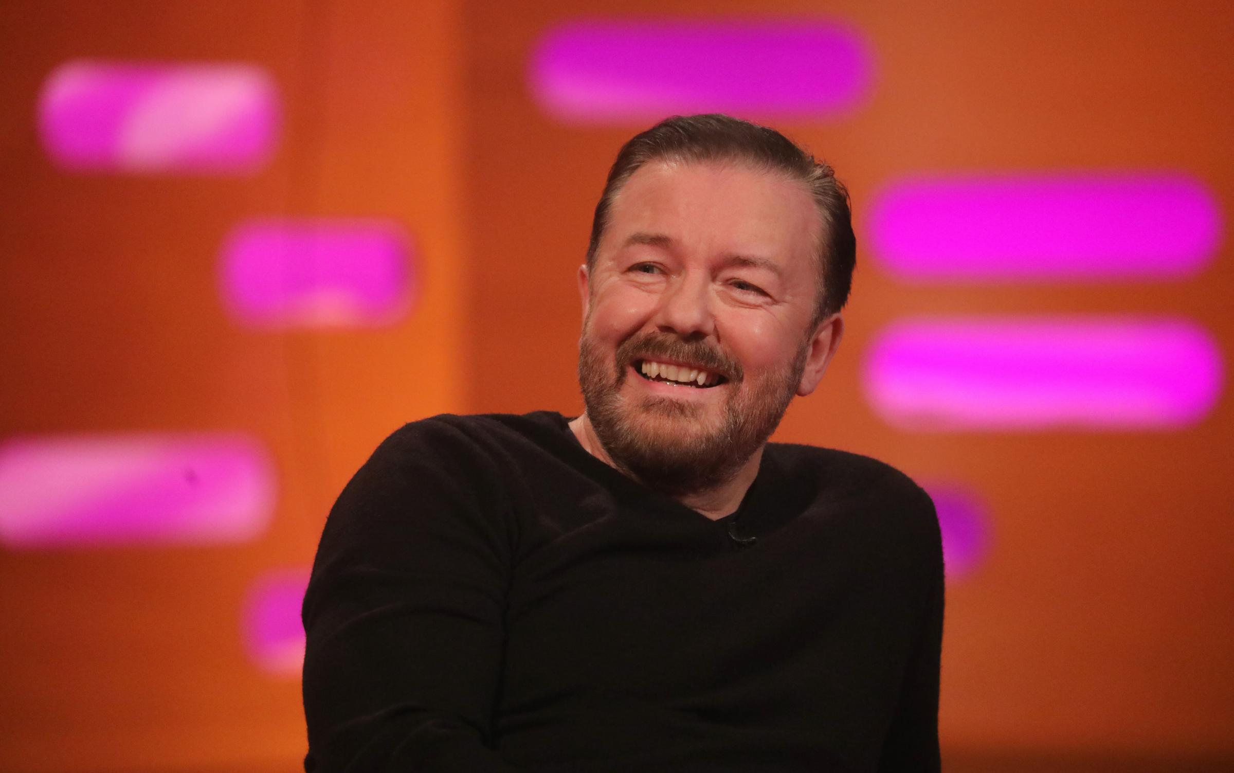 Fans ripped off as Ricky Gervais tickets fetch up to 600 times face value