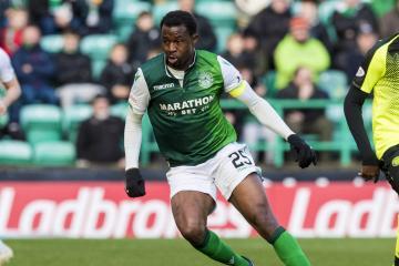 Former Celtic and Hibs defender Efe Ambrose signs for Livingston