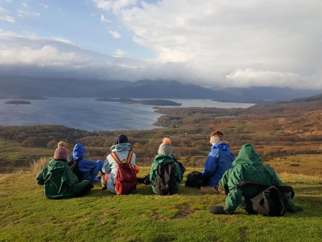 Blairvadach outdoor education centre