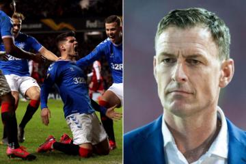 Celtic hero Chris Sutton congratulates Rangers on 'winning Europa League' after Braga comeback celebrations