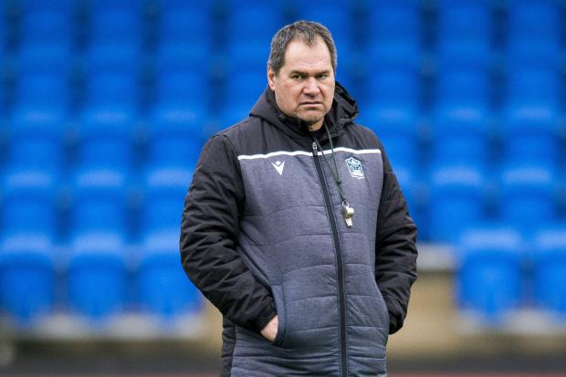 Glasgow Warriors head coach Dave Rennie. (Photo by Mark Scates / SNS Group).