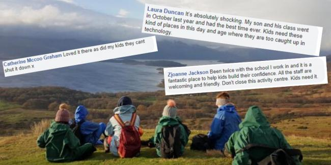 Memories of Blairvadach Outdoor Education Centre shared as petition to save it skyrockets