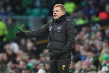Premiership title 'still a million miles away', says Celtic manager Neil Lennon