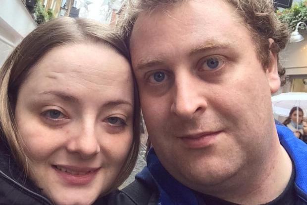 Couple lose nine stone after watching daughter go through health battle