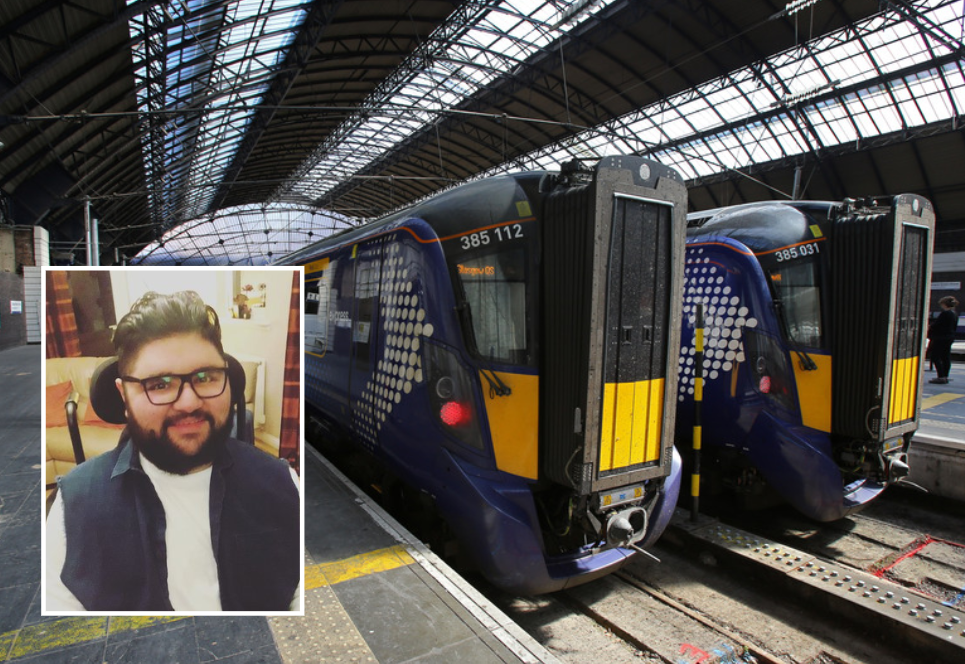 Wheelchair user slams ScotRail 'discrimination' over lack of First Class access