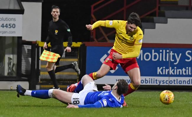 Partick Thistle and Queens played out a goalless draw on Tuesday night