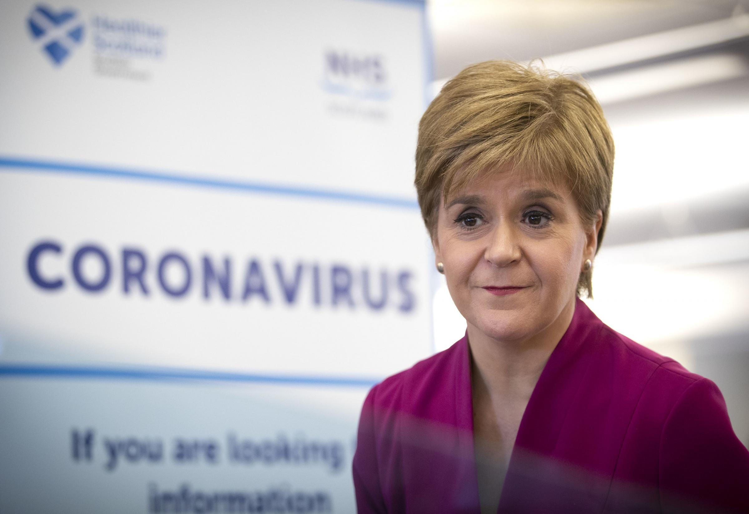 Coronavirus: Who takes over from Nicola Sturgeon if the First Minister falls ill?