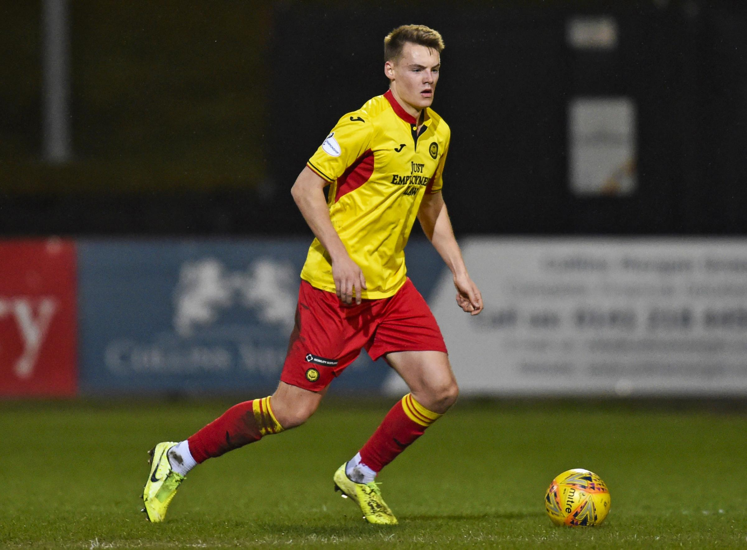 Partick Thistle manager Ian McCall impressed with Rangers' Lewis Mayo
