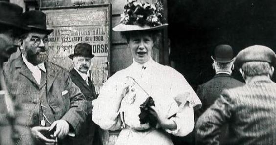 Mary Mcarthur, a champion for the rights of working women in the early 20th century. TUC/PA Wire