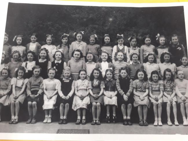 The 1950 class at St Francis Primary