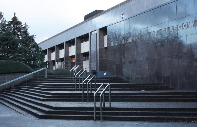 For Glasgow Times, Nobody Knows Glasgow Better feature.  ..Pictured is Glasgow Sheriff Court...  Photograph by Colin Mearns.11 December 2019....