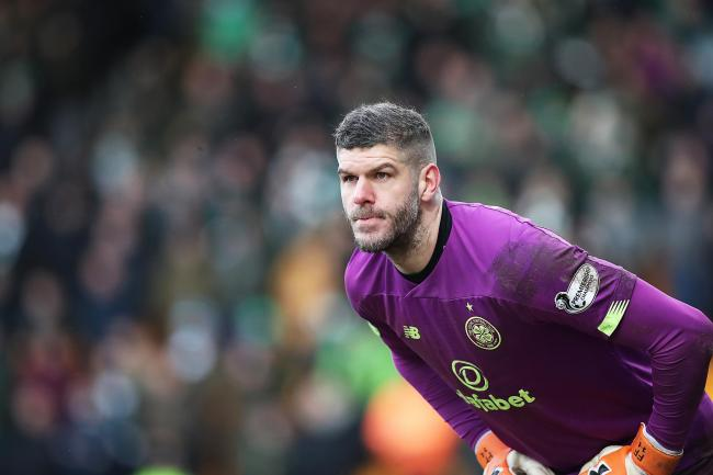 Fraser Forster is currently on loan at Celtic from Southampton.