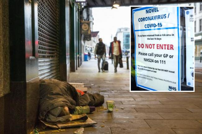 Revealed: Glasgow City Council's coronavirus flats plan so homeless can self-isolate