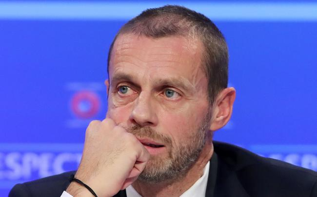 UEFA president Aleksander Ceferin says leagues are unlikely to finish if they don't resume by the end of June.