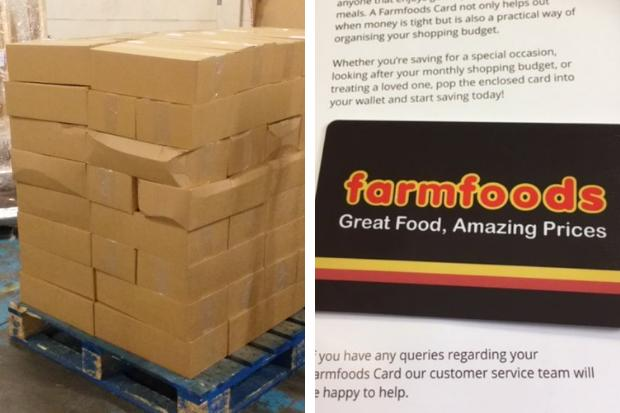 Council takes delivery of 20,000 Farmfoods vouchers for vulnerable Glasgow families