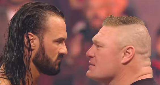 WrestleMania: Scots wrestler Drew McIntyre's main event under threat as Brock Lesnar faces 'travel ban'