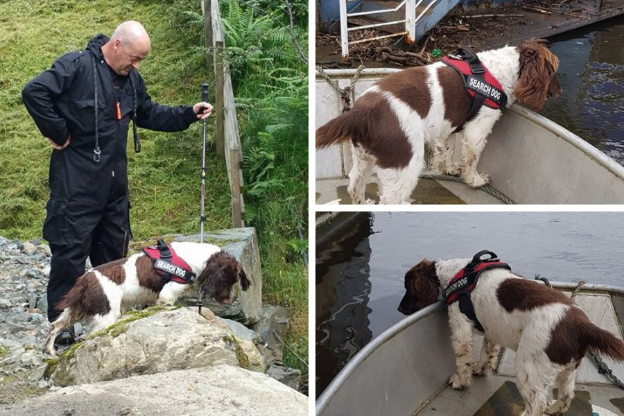Meet the River Clyde recovery dog giving heartbroken families closure