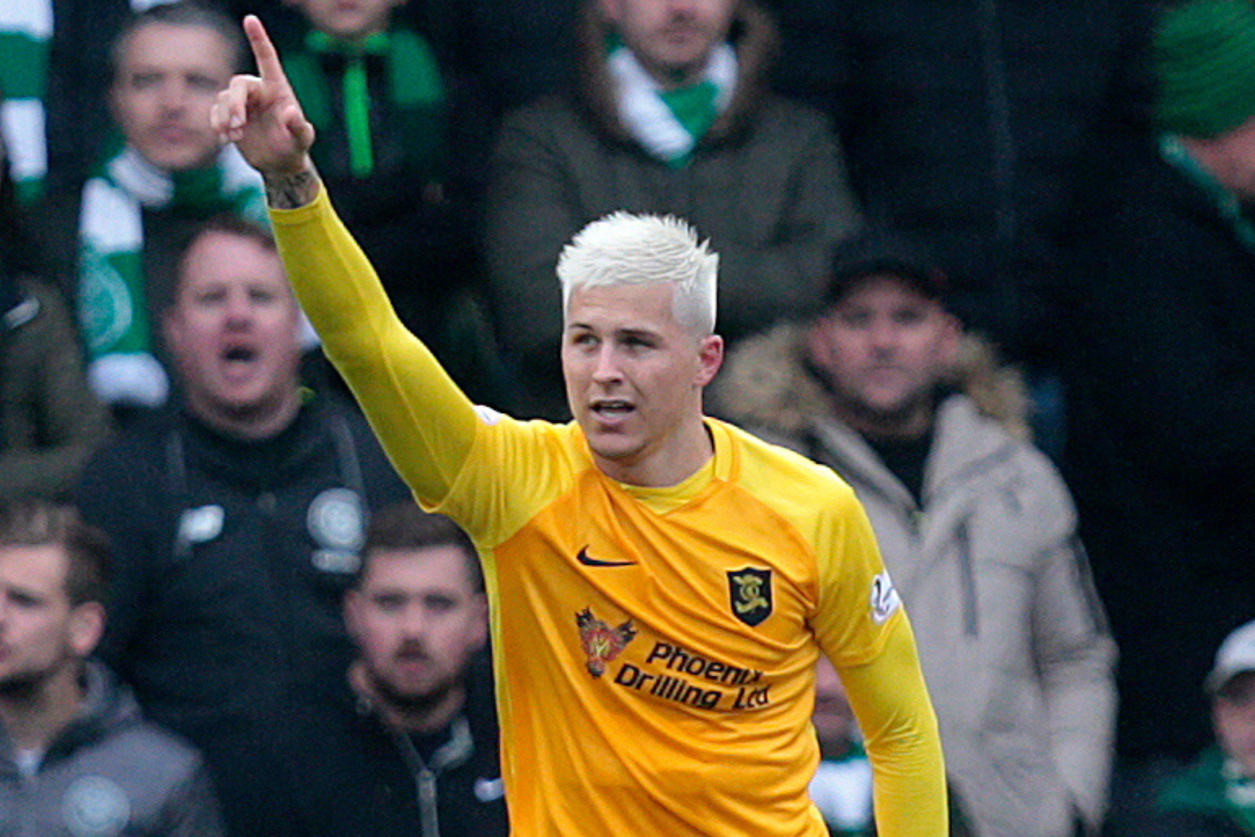 Scotland or Australia? Livingston star Lyndon Dykes has held talks with both Steve Clarke and Graham Arnold