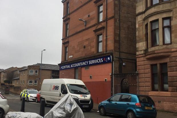 Police probe whether man fell from window of Govanhill flat