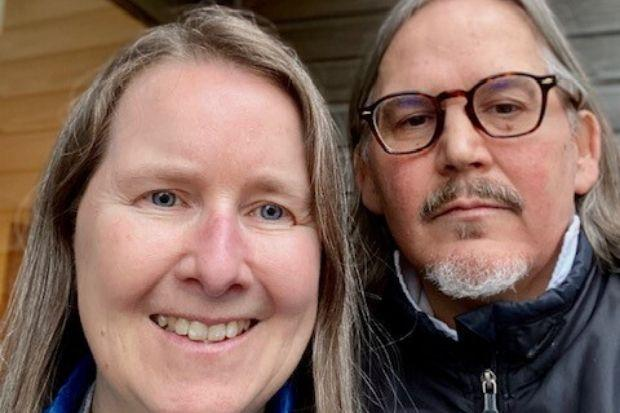 George and Angela Christie – who has MS – have been left without water in the York Street property