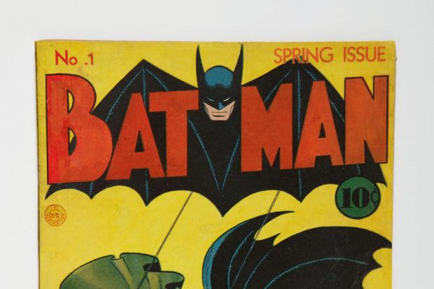 Glasgow Times: The first issue of Batman from spring 1940