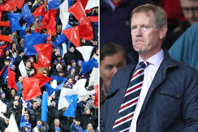 Rangers fans issue thanks to departing chairman Dave King