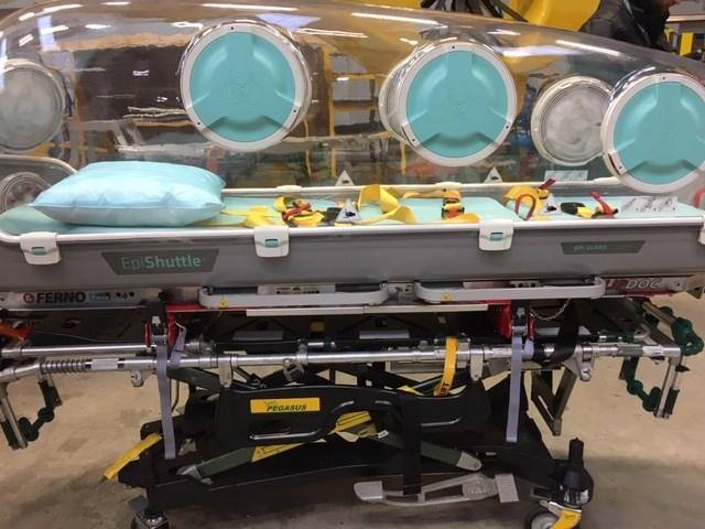The air ambulance pods will transport patients to major hospitals