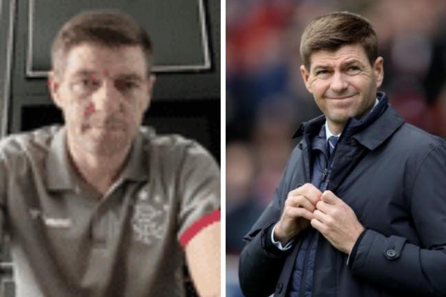 WATCH: Rangers boss Steven Gerrard in video message to self-isolating fan