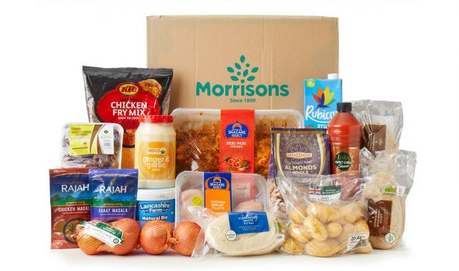 The new 'Ramadan Food Box' will be available throughout the month of religious observation. Picture: Morrisons
