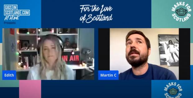 Glasgow Times: Compston was speaking during For the Love of Scotland with host Edith Bowman