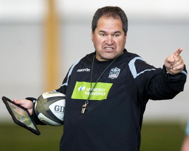 MOTHERWELL, SCOTLAND - FEBRUARY 26: Glasgow Warriors head coach Dave Rennie during a training session at Ravenscraig training facility on February 26, 2020, in Motherwell, Scotland. (Photo by Gary Hutchison / SNS Group / SRU).