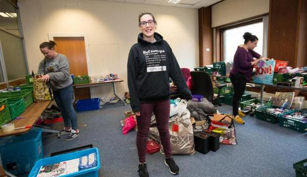 Selina Hales: Here's what my days look like at foodbank