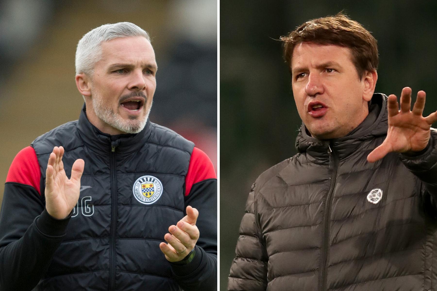 St Mirren boss Jim Goodwin reveals sympathy for Hearts counterpart Daniel Stendel
