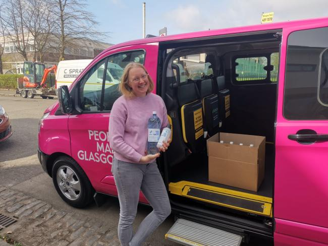 Glasgow's Secret Taxi Driver: Warm welcomes and smiles after delivering PPE